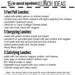 Lunch with Trim Healthy Mama (free printable meal list!)