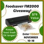 FoodSaver Tips