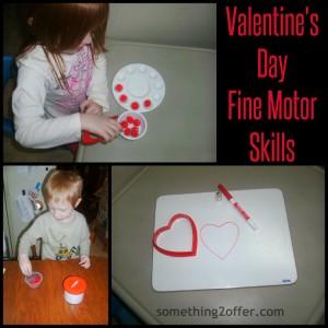 Preschool Valentine's Fine Motor Ideas
