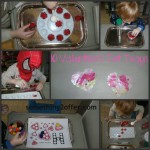 10 Valentine's Day Tot Trays