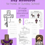 Free Printable Resurrection Day Learning Pack