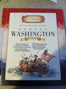 Living History Books: Washington and Adams