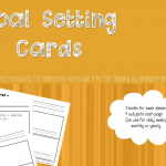 Free Printable Goal-Setting Sheets for Young Homeschoolers
