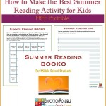 FREE Teen Summer Reading Activity