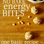 No Bake Energy Bites {Free Printable Chart}