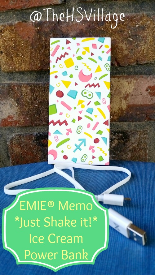 EMIE® Memo *Just Shake it!* Ice Cream Power Bank