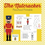 FREE Preschool Nutcracker Printable