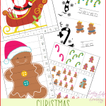 Christmas Counting Printables