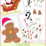 Christmas Counting Printables