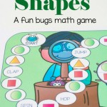 Free Bugs Shapes Math Game