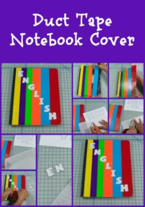Duct Tape Notebook Cover