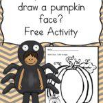 Draw a Jack-o-lantern Face