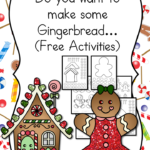Gingerbread Man Cutout Template