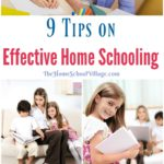 9 Tips on Effective Home Schooling