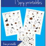 Arctic Animals I Spy {free printables}