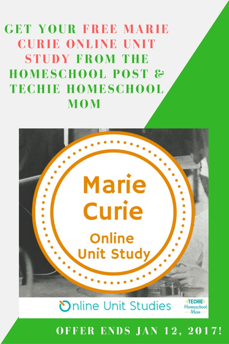 Free Marie Curie Online Unit Study