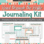 Free Printable Read Through the Bible Journaling Kit