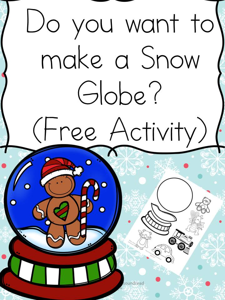 FREE Craft - Do you want to make a Snow Globe?