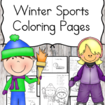 Free Winter Sports Coloring Pages