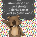 Free Groundhog Day Coloring Pages
