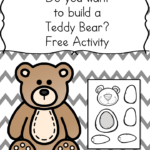 Free Printable: Make a Teddy Bear