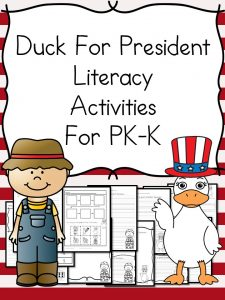 Duck For President Lesson Plan and Activities