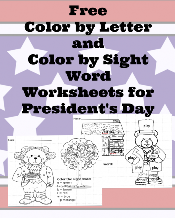 President's Day Worksheets and Printables