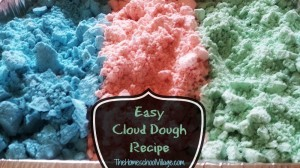 Easy Cloud Dough Recipe