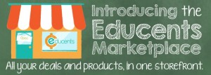 Introducing the NEW Educents Marketplace