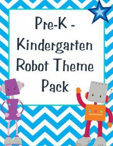 FREE Robot Theme Pack