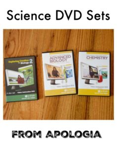 Apologia Exploring Creation Science DVDs